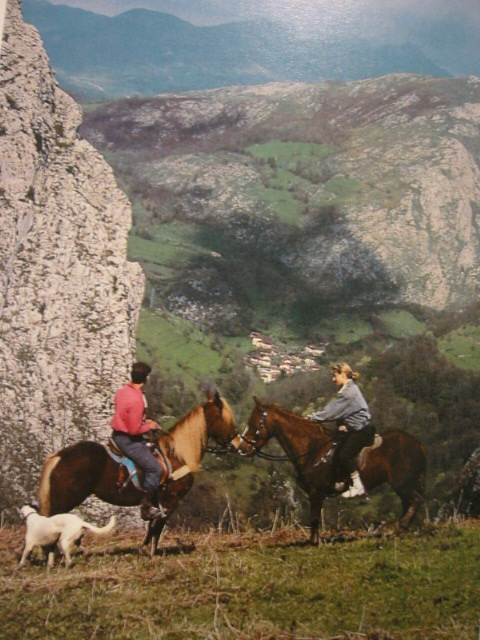 Rutas a caballo por Cangas de Onís