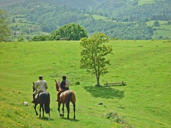 Rutas a caballo por Sevares, Asturias