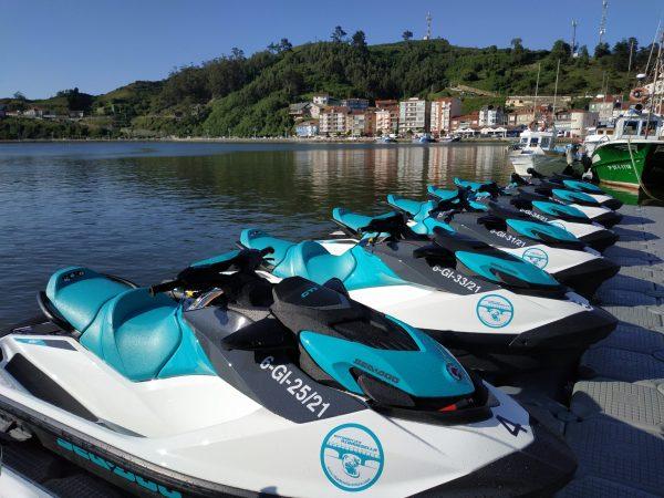 Alquiler motos de agua en Ribadesella